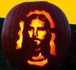 HalloweenJesusPumpkin